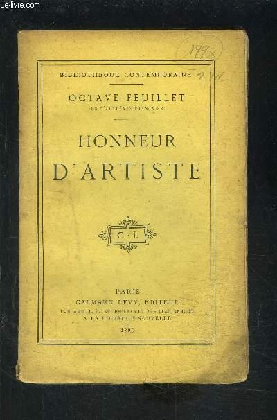 HONNEUR D ARTISTE