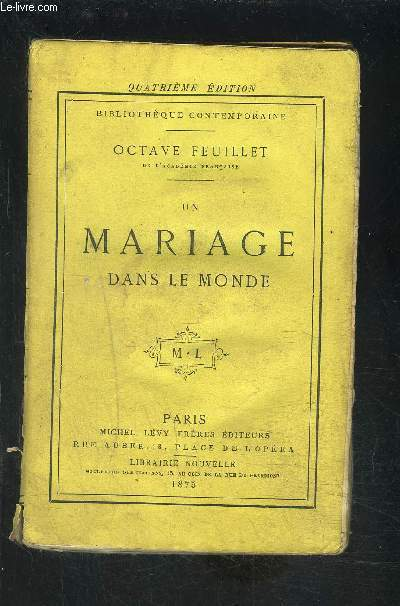 UN MARIAGE DANS LE MONDE