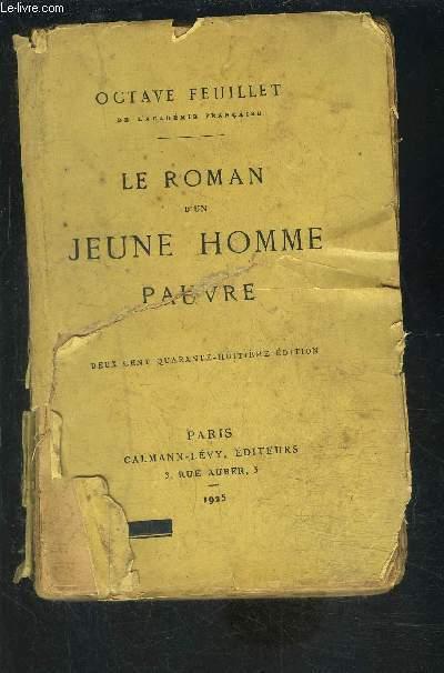 LE ROMAN D UN JEUNE HOMME PAUVRE