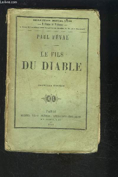 LE FILS DU DIABLE- TOME 1 vendu seul