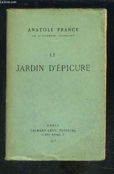 LE JARDIN D EPICURE
