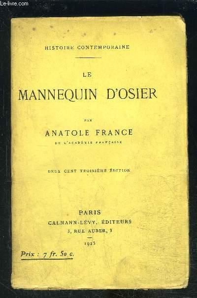 LE MANNEQUIN D OSIER