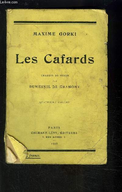 LES CAFARDS