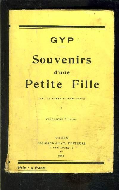 SOUVENIRS D UNE PETITE FILLE- 2 TOMES EN 2 VOLUMES