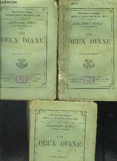LES DEUX DIANE- 3 TOMES EN 3 VOLUMES