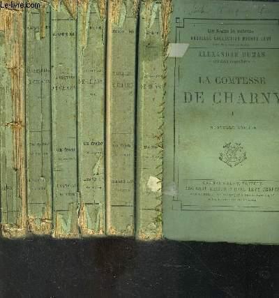 LA COMTESSE DE CHARNY- 6 TOMES EN 6 VOLUMES- VENDU EN L ETAT