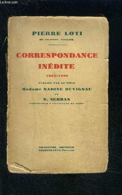 CORRESPONDANCE INEDITE 1865-1904