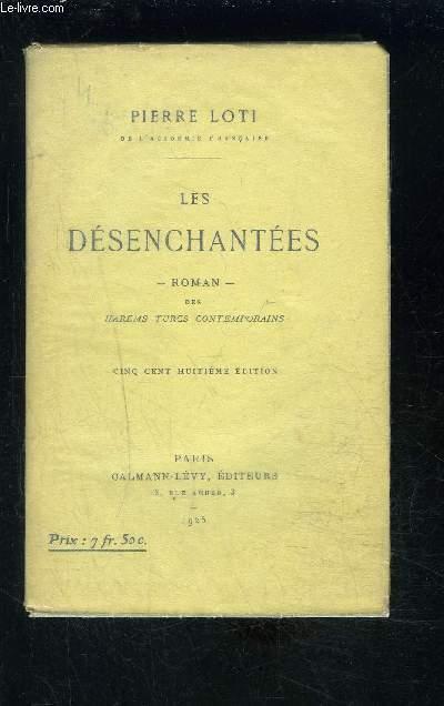 LES DESENCHANTEES