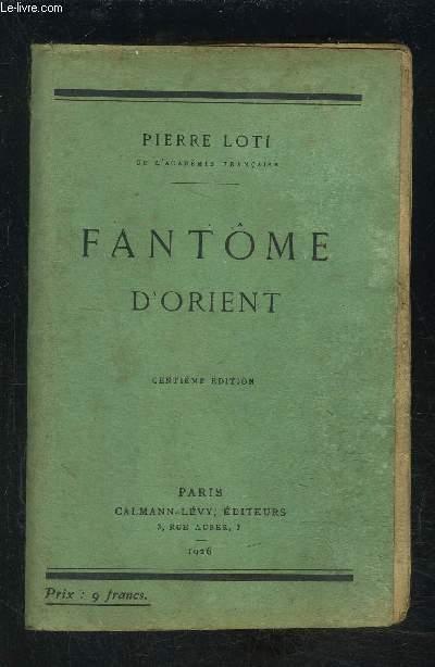 FANTOME D ORIENT