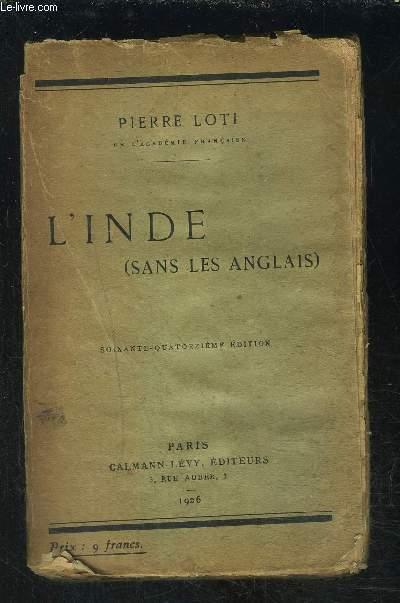L INDE - SANS LES ANGLAIS