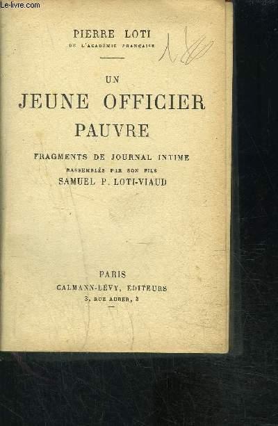 UN JEUNE OFFICIER PAUVRE
