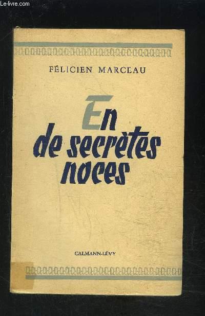 EN DE SECRETES NOCES