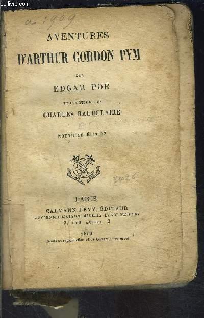 AVENTURES D ARTHUR GORDON PYM- VENDU EN L ETAT