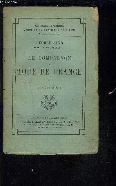 LE COMPAGNON DU TOUR DE FRANCE- TOME 2- VENDU SEUL