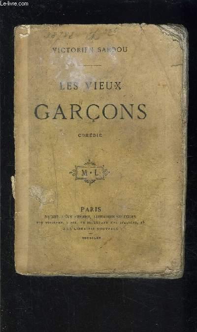 LES VIEUX GARCONS- COMEDIE EN CINQ ACTES, EN PROSE- VENDU EN L ETAT