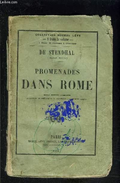 PROMENADES DANS ROME / VENDU EN L ETAT