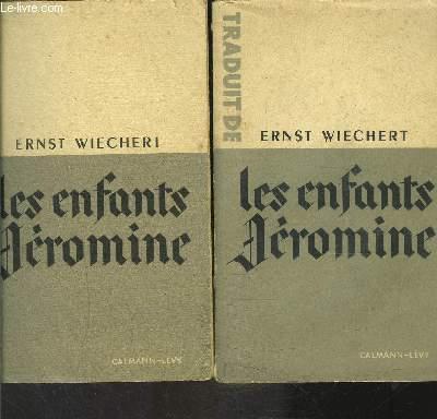 LES ENFANTS JEROMINE- 2 TOMES EN 2 VOLUMES