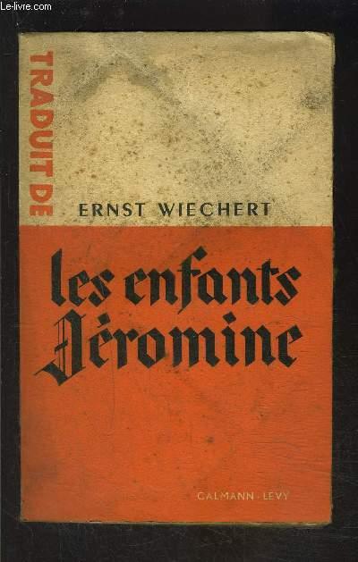 LES ENFANTS JEROMINE- tome 1