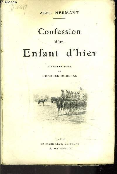 CONFESSION D UN ENFANT D HIER / VENDU EN L ETAT