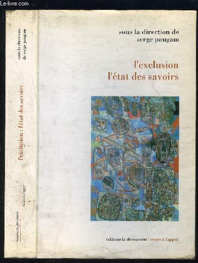 L EXCLUSION L ETAT DES AVOIRS