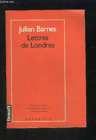 LETTRES DE LONDRES