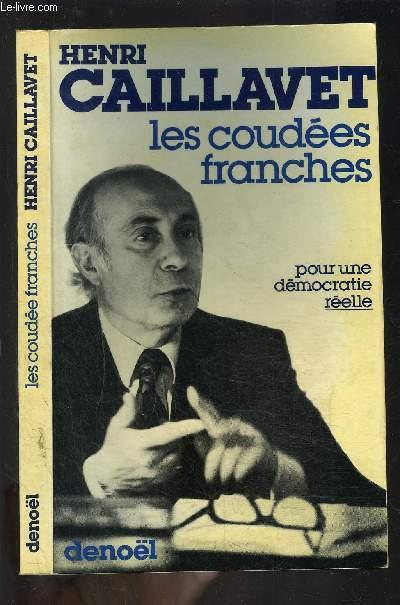 LES COUDEES FRANCHESDu statut de l'opposition au régime présidentiel