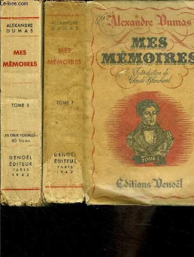 MES MEMOIRES- 2 TOMES EN 2 VOLUMES