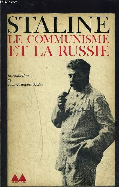 LE COMMUNISME ET LA RUSSIE