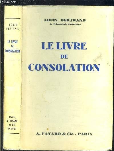 LE LIVRE DE CONSOLATION