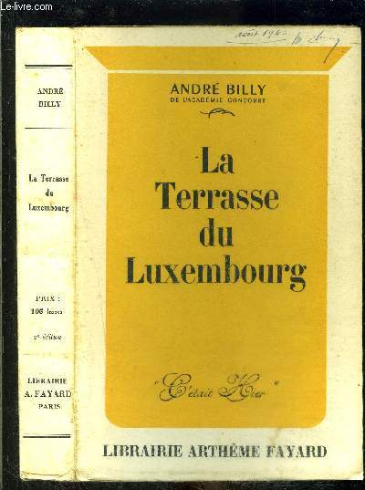 LA TERRASSE DU LUXEMBOURG