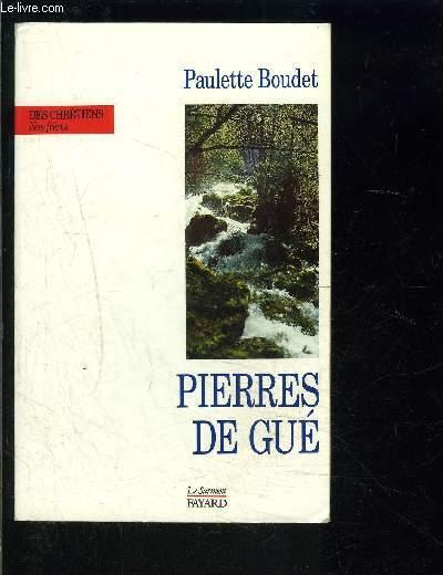 PIERRES DE GUE