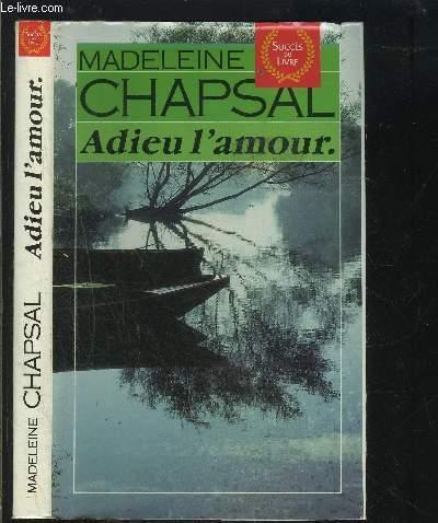 ADIEU L AMOUR