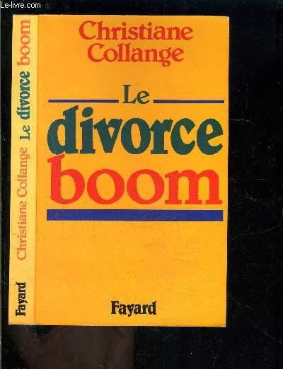 LE DIVORCE BOOM