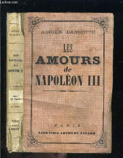 LES AMOURS DE NAPOLEON III