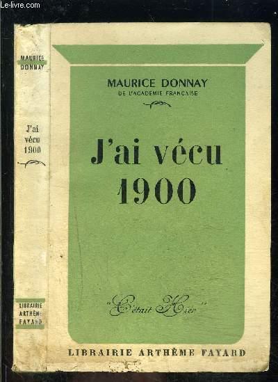 J AI VECU 1900