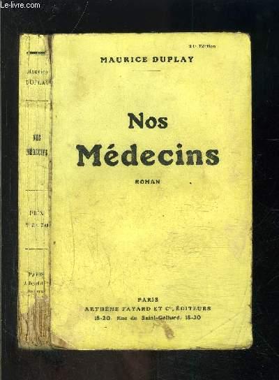 NOS MEDECINS