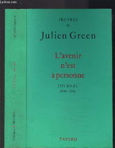L AVENIR N EST A PERSONNE- 1990-1992