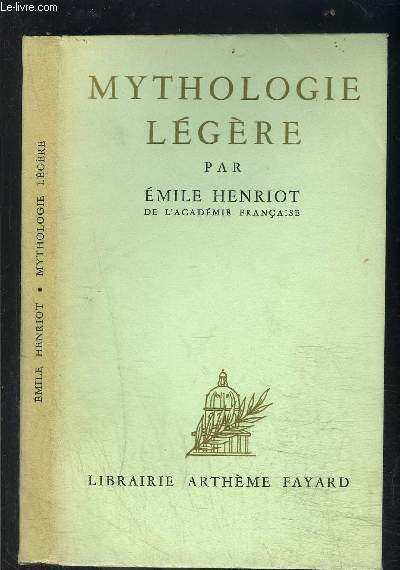 MYTHOLOGIE LEGERE