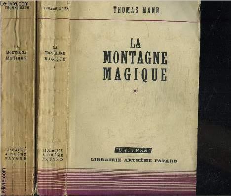 LA MONTAGNE MAGIQUE- 2 TOMES EN 2 VOLUMES