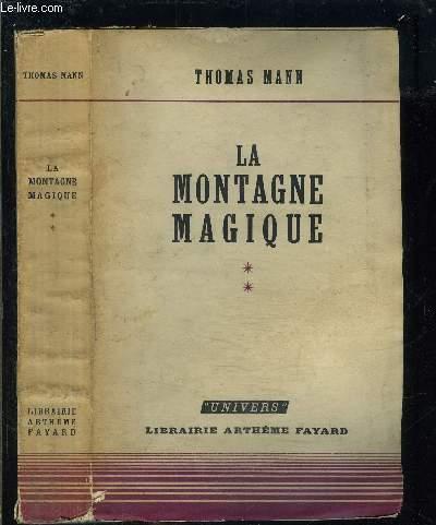LA MONTAGNE MAGIQUE- TOME 2 vendu seul