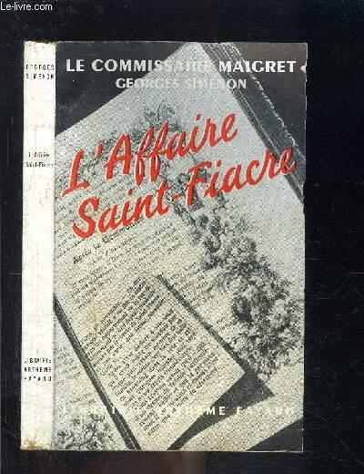 L AFFAIRE SAINT FIACRE
