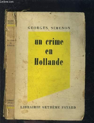 UN CRIME EN HOLLANDE