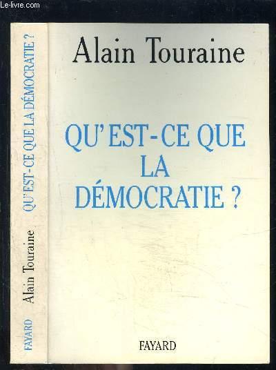 QU EST CE QUE LA DEMOCRATIE?