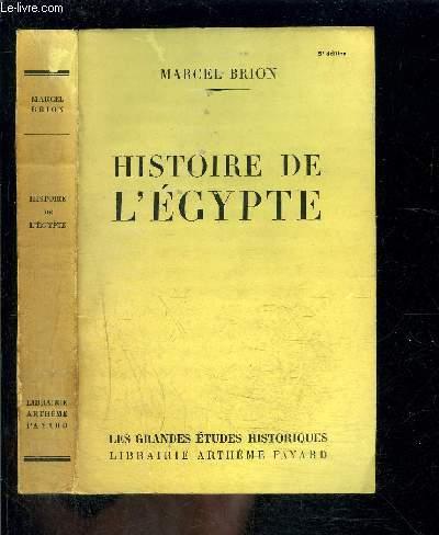 HISTOIRE DE L EGYPTE