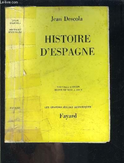 HISTOIRE D ESPAGNE