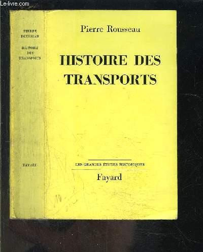 HISTOIRE DES TRANSPORTS