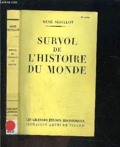 SURVOL DE L HISTOIRE DU MONDE