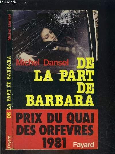 DE LA PART DE BARBARA