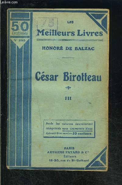 CESAR BIROTTEAU III