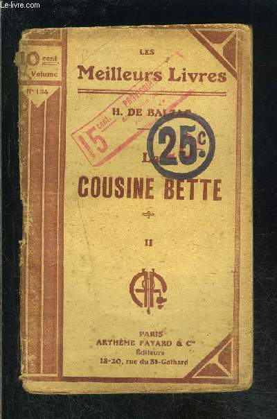 LA COUSINE BETTE II